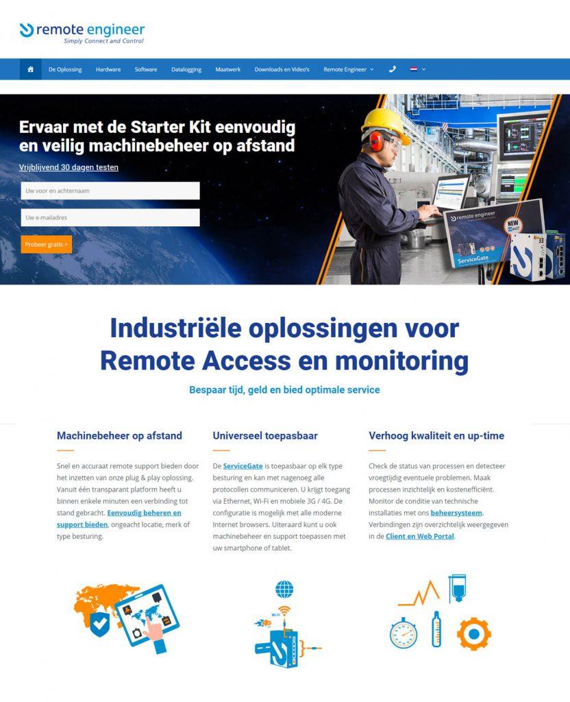 Website remote engineer