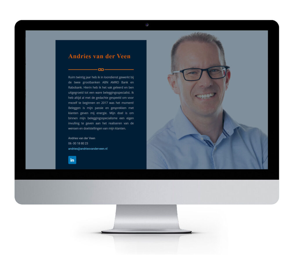 ontwerp zakelijke website