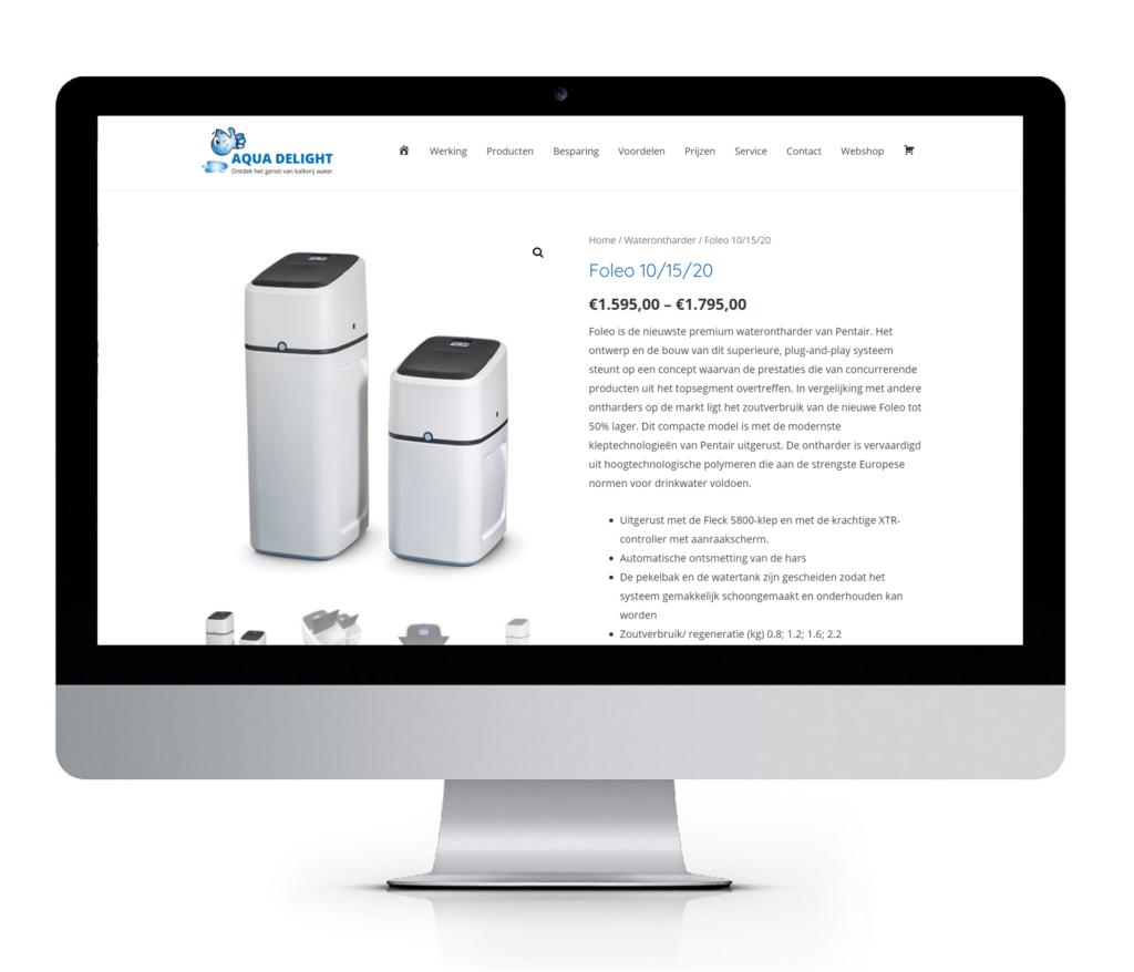 Responsive webshop in WordPress