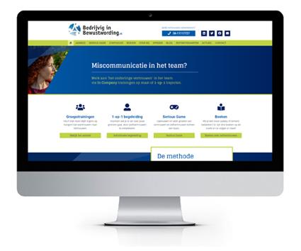 website bedrijvig in bewustwording
