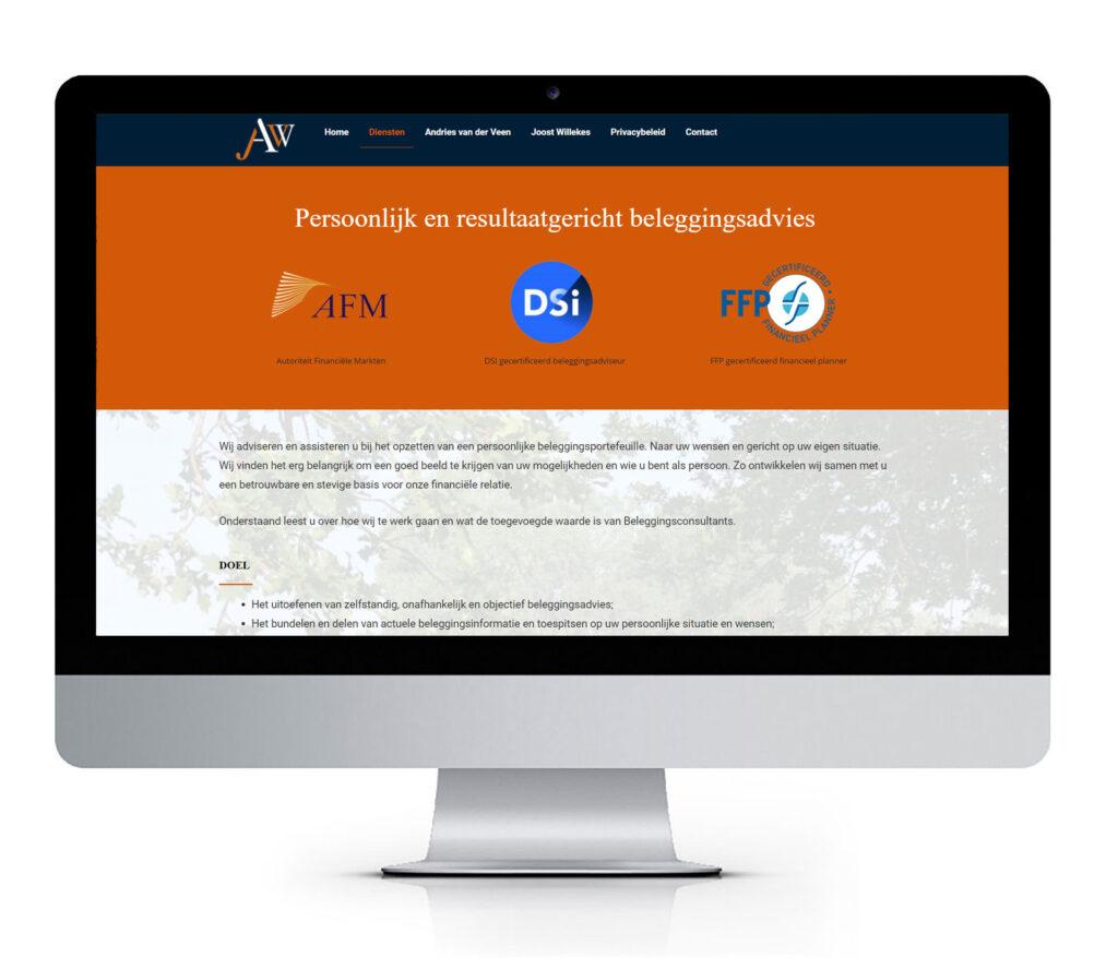 Website Beleggingsconsultants