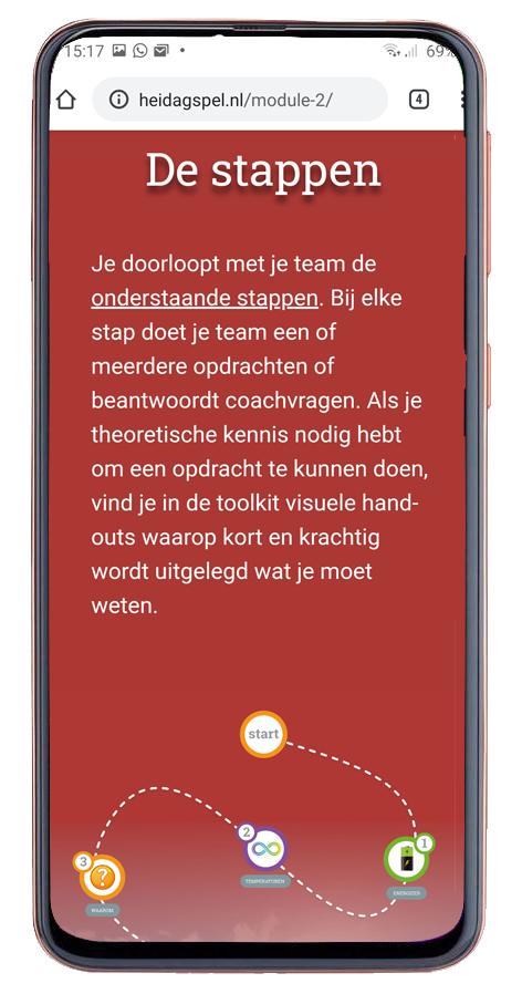 Website Heidagspel interactieve teambuilding
