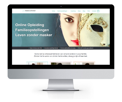Jan Velsen Familieopstellingen website ontwerp in wordpress