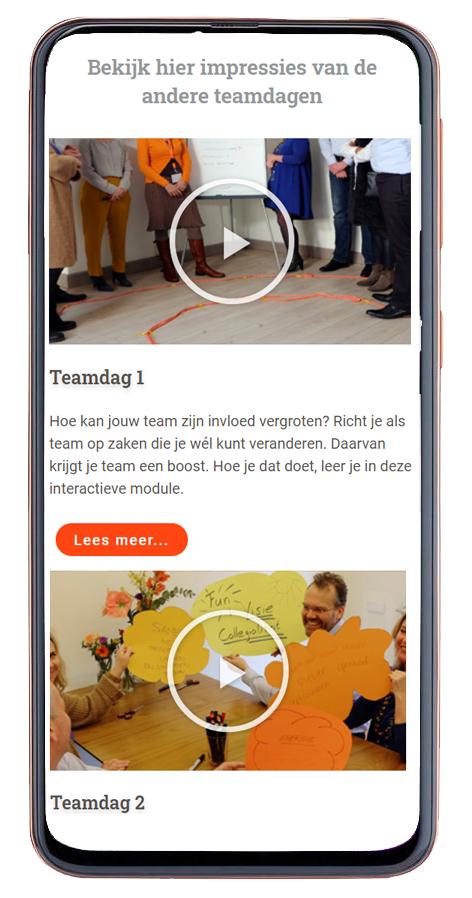website ontwerp mobiel