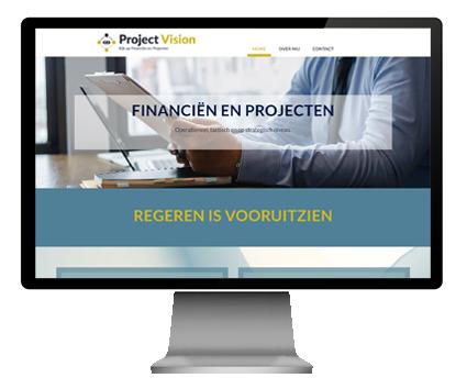 Project vision is er voor FINANCIËN EN PROJECTEN